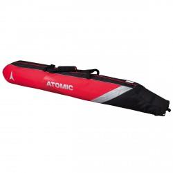 Ski bag Atomic Double Padded red