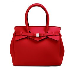 Borsa Save My Bag Miss rosso