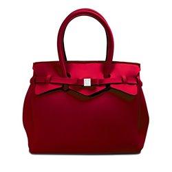 Borsa Save My Bag Miss bordeaux