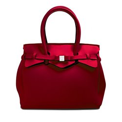 Borsa Save My Bag Miss bordeaux