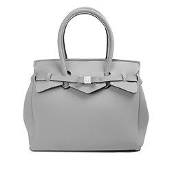 Borsa Save My Bag Miss grigio polvere