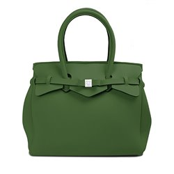 Bolsa Save My Bag Miss verde oscuro