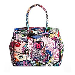 Borsa Save My Bag Miss graffiti