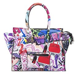 Borsa Save My Bag Portofino graffiti