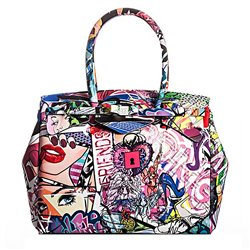 Borsa Save My Bag Miss 3/4 graffiti