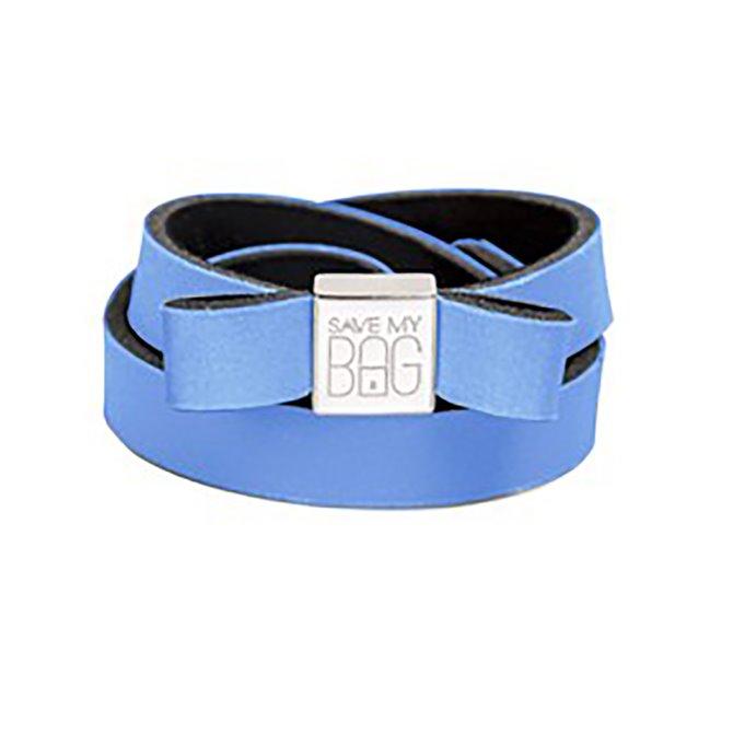 Fiocco Save My Bag Miss lycra azzurro