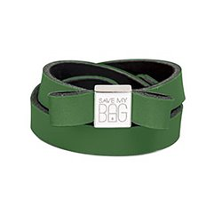 Fiocco Save My Bag Miss lycra verde oscuro
