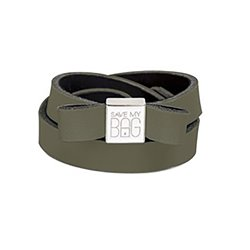 Bow Save My Bag Miss lycra military green