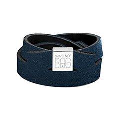 Fiocco Save My Bag Miss velvet bleu foncé