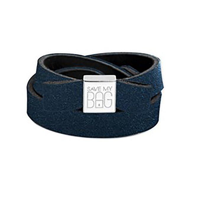 Fiocco Save My Bag Miss velvet blu scuro