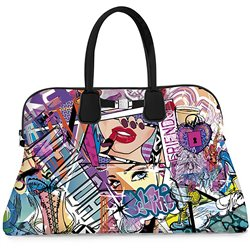 Borsa Save My Bag Principe graffiti