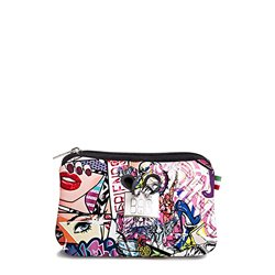 Pochette Save My Bag Fiocco pequeña graffiti