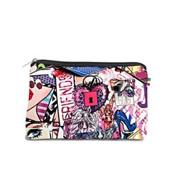 Pochette Save My Bag Fiocco grand graffiti