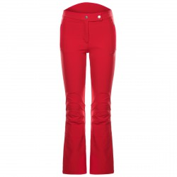 Ski pants Toni Sailer Sestriere Woman red