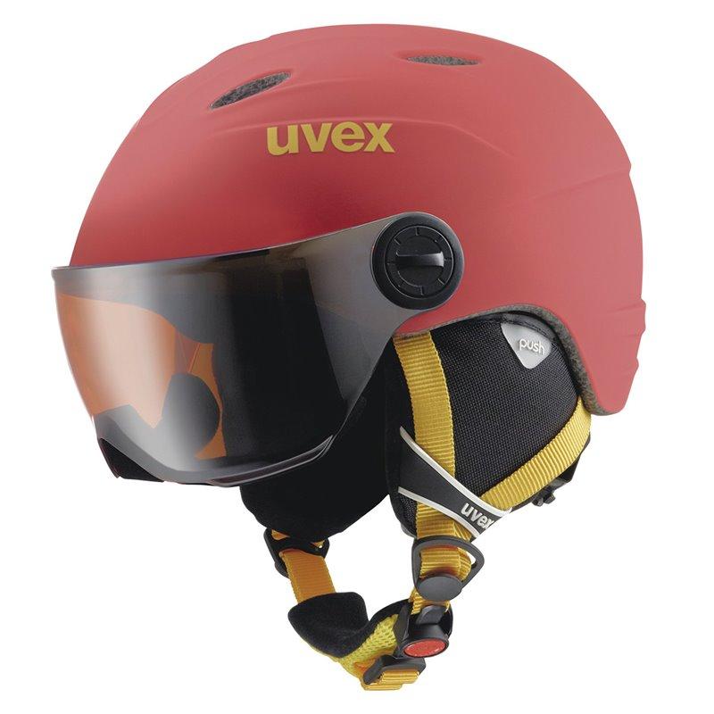 Casco sci Uvex Visor Pro Junior