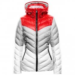 Chaqueta esquí Toni Sailer Emily Mujer rojo-gris