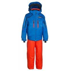 Conjunto esquí Phenix SukuSuku Norway Team Niño azul-naranja