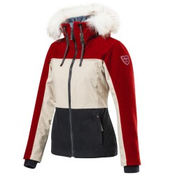 Jacket Arpin Falaise Woman red