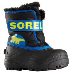 Doposci Sorel Snow Commander Baby nero-royal (25-31)