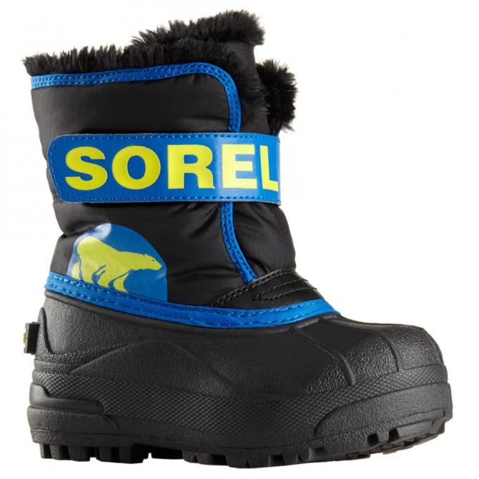 Doposci Sorel Snow Commander Baby nero-royal (25-31) SOREL Doposci bambino