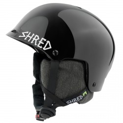 Casco esquí Shred Half Brain D-Lux negro