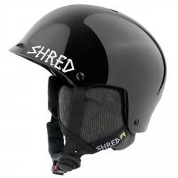 Ski helmet Shred Half Brain D-Lux black