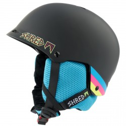 Ski helmet Shred Half Brain black