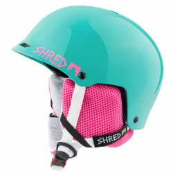 Casco esquí Shred Half Brain verde