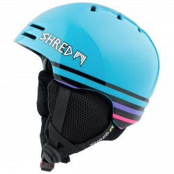 Casco esquí Shred Slam Cap azul claro