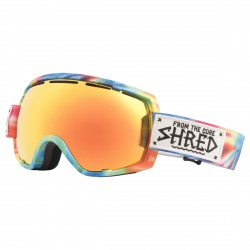 Maschera sci Shred Stupefy multicolor
