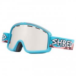 Máscara esquí Shred Monocle azul claro