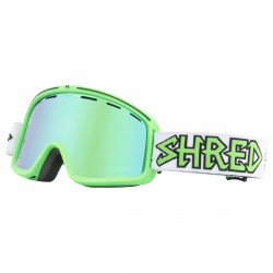 Maschera sci Shred Monocle verde