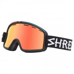 Máscara esquí Shred Monocle negro
