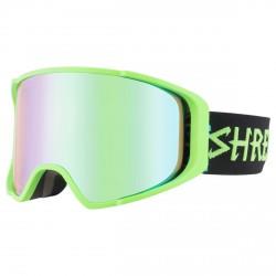 Máscara esquí Shred Monocle verde