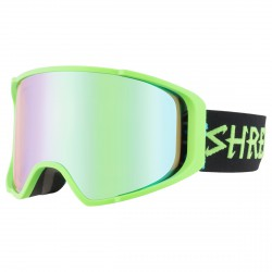 Masque ski Shred Monocle vert