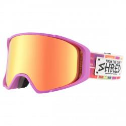 Máscara esquí Shred Monocle violeta