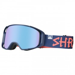 Masque ski Shred Monocle bleu