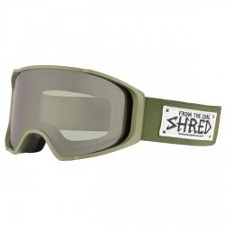 Máscara esquí Shred Monocle verde militar