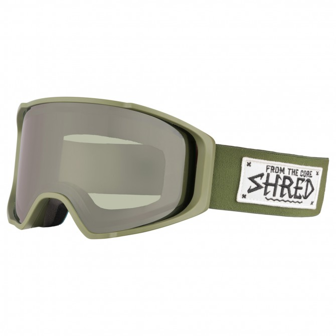 Maschera sci Shred Simplify verde militare