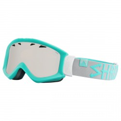 Máscara esquí Shred Tastic verde agua