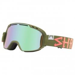 Maschera sci Shred Amazify verde militare