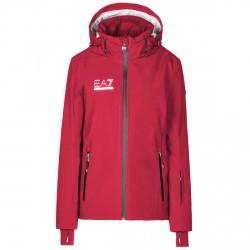 Veste ski Ea7 6XTG12 Femme rouge