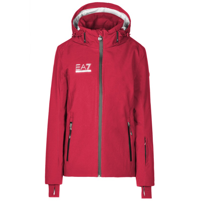 buy online f44ee af6aa Emporio armani Giacca sci Ea7 6XTG12 Donna rosso Prezzi ...