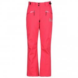 Pantalone sci Ea7 6XTP06 Donna rosso