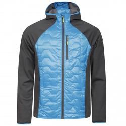 Chaqueta montañismo Icepeak Bernie Hombre azul-gris