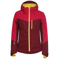 Ski jacket Icepeak Kate Woman burgundy