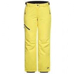 Pantalones esquí Icepeak Josie Mujer amarillo