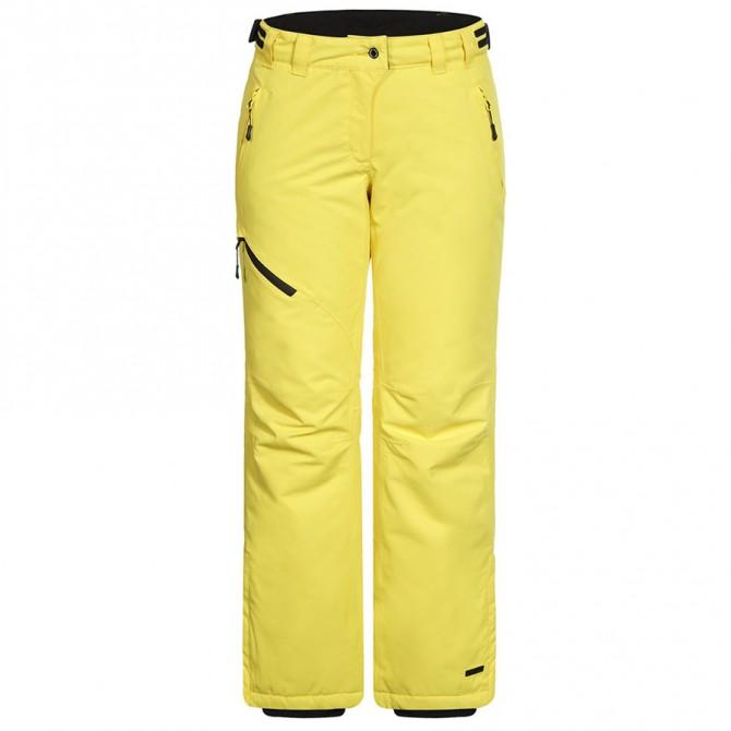 Pantalone sci Icepeak Josie Donna giallo