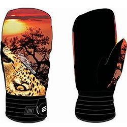 Moffole sci Energiapura Animal face savana-leopardo