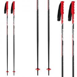 Bastoni sci Nordica Race Alu 18 mm nero-rosso
